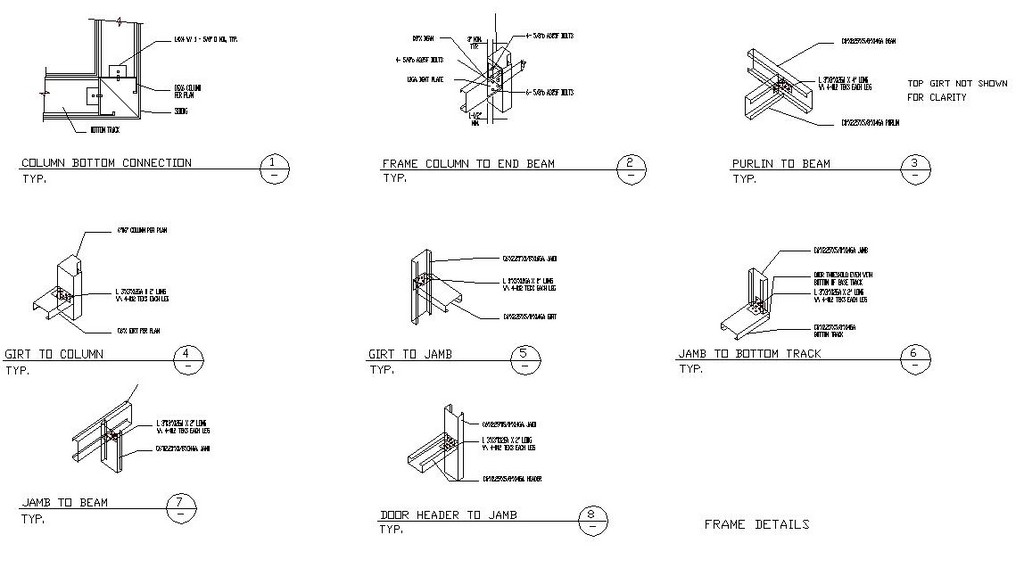 Mini Steel Building Frame Details Detail Jpg