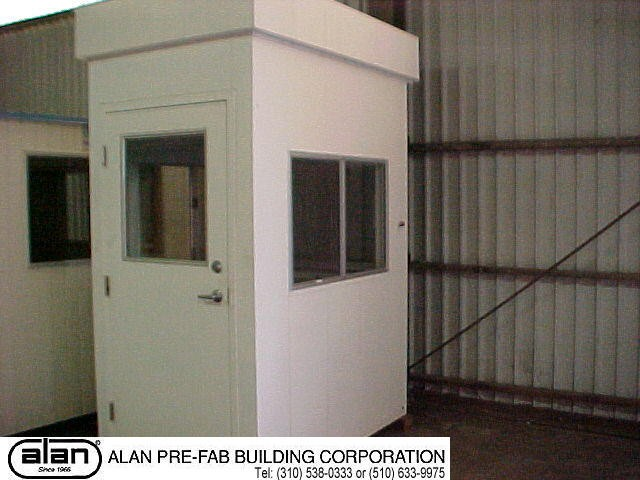 steel frame guard house