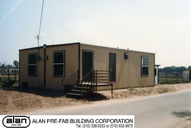 industrial and commercial prefabricated portable building, modular building, permanent installation, compliant to IBC, CBC, ADA. Factory direct from Los Angeles California