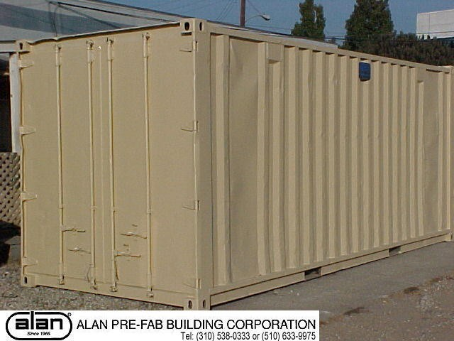 secure ocean container, used containers