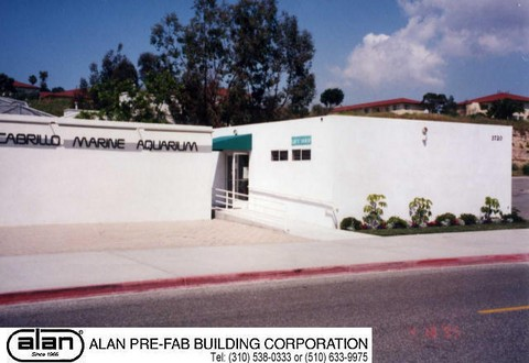 about modular buildings, history of prefab buildings, alan buildings